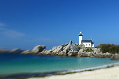Lighthouse Pontusval Royalty Free Stock Images