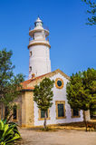 Lighthouse at Port de Soller in Majorca Royalty Free Stock Photo