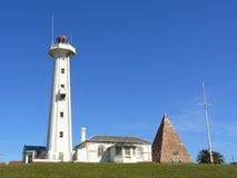 Lighthouse in Port Elizabeth Stock Photo