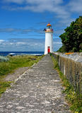 Lighthouse at Port Fairy Australia Royalty Free Stock Images