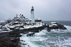 Lighthouse in Portland Royalty Free Stock Images