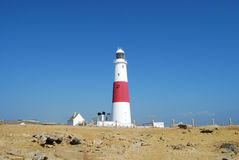 Lighthouse at Portland Royalty Free Stock Images