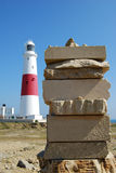 Lighthouse at Portland Stock Photography