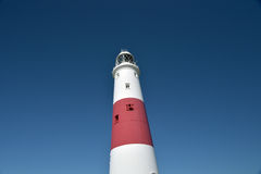 Lighthouse on Portland Bill Royalty Free Stock Photos