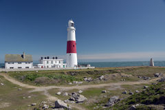Lighthouse on Portland Bill Stock Images