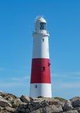 Lighthouse. Portland Bill Lighthouse on the south coast of England Royalty Free Stock Photo