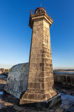 Lighthouse in Porto Stock Photo