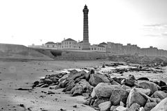 Lighthouse of Porto, Portugal Royalty Free Stock Photography