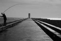 Lighthouse, Porto Portugal Stock Photography