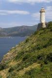 Lighthouse of Portoferraio in Portoferraio, Province of Livorno, on the island of Elba in the Tuscan Archipelago of Italy, Europe,. Where Napoleon Bonaparte was Stock Photo