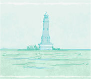Lighthouse Poster Royalty Free Stock Images