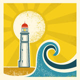 Lighthouse Poster Stock Photo