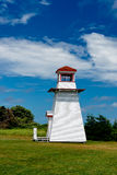 Lighthouse on Prince Edward Island Stock Photography