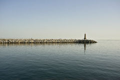 Lighthouse at Puerto Banus Royalty Free Stock Images