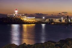 Lighthouse in Puerto De Mogan Stock Image