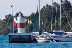 Lighthouse in Puerto Varas Royalty Free Stock Photography