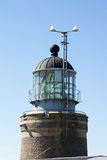 Lighthouse. Pulpit with mirror inside Royalty Free Stock Photography