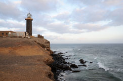 Lighthouse Punta de Jandia on Fuerteventura Royalty Free Stock Images