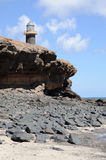 LIghthouse Punta de Jandia, Fuerteventura. LIghthouse Punta de Jandia, Canary Island Fuerteventura, Spain Stock Photo