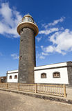Lighthouse at Punta de Jandia, Fuerteventura Stock Images