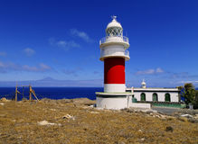 Lighthouse on Punta del Faro on La Gomera Royalty Free Stock Image
