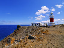 Lighthouse on Punta del Faro on La Gomera Royalty Free Stock Photos
