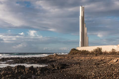 Lighthouse Punta del Hidalgo Stock Image
