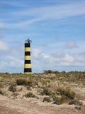 Lighthouse at Punta Ninfas, Patagonia Argentina. Isolated Lighthouse at Punta Ninfas, Patagonia Argentina Royalty Free Stock Image