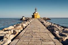 Lighthouse of Punta Sabbioni. Jesolo Italy Stock Images