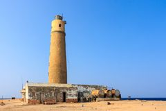 Lighthouse reef Big brother. The red sea Stock Images
