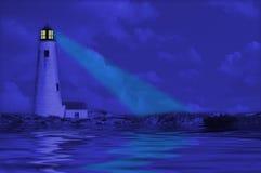 Lighthouse Reflection Royalty Free Stock Photos