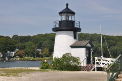 Lighthouse. Replica of lighthouse at old Saybrook CT Royalty Free Stock Photo