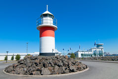 Lighthouse in Reposaari,Finland Royalty Free Stock Photos