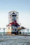 Lighthouse restoration Royalty Free Stock Photography