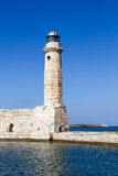 Lighthouse of Rethymno Royalty Free Stock Photography