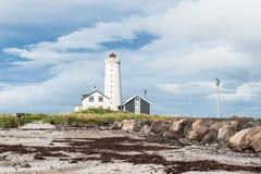 Lighthouse in Reykjavik, Iceland Royalty Free Stock Photo