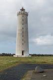 Lighthouse of Reykjavik, Iceland. Stock Photo
