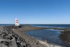 Lighthouse in Reykjavik Stock Image