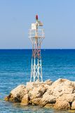 Lighthouse. Rhodes Island. Greece Royalty Free Stock Image