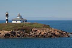 Lighthouse of Ribadeo Royalty Free Stock Photo