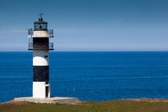 Lighthouse of Ribadeo Royalty Free Stock Image