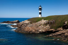 Lighthouse of Ribadeo Royalty Free Stock Photo
