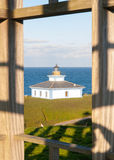Lighthouse in Ribadeo Royalty Free Stock Photography