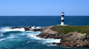 Lighthouse of Ribadeo, Lugo Stock Photos