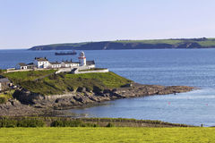 Lighthouse of Roches Point Royalty Free Stock Photo