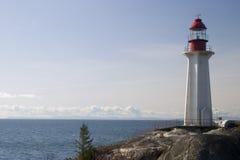 Lighthouse on a Rock 1 stock photos