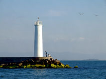lighthouse romantic Royalty Free Stock Images