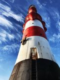 Lighthouse Roter Sand, Weser Estuary, North Sea stock image