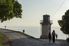 Lighthouse in Rovinj Stock Images