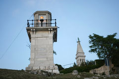 Lighthouse in Rovinj Stock Photo